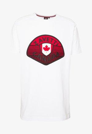 CANADA BOTTICINI  - T-shirt imprimé - white