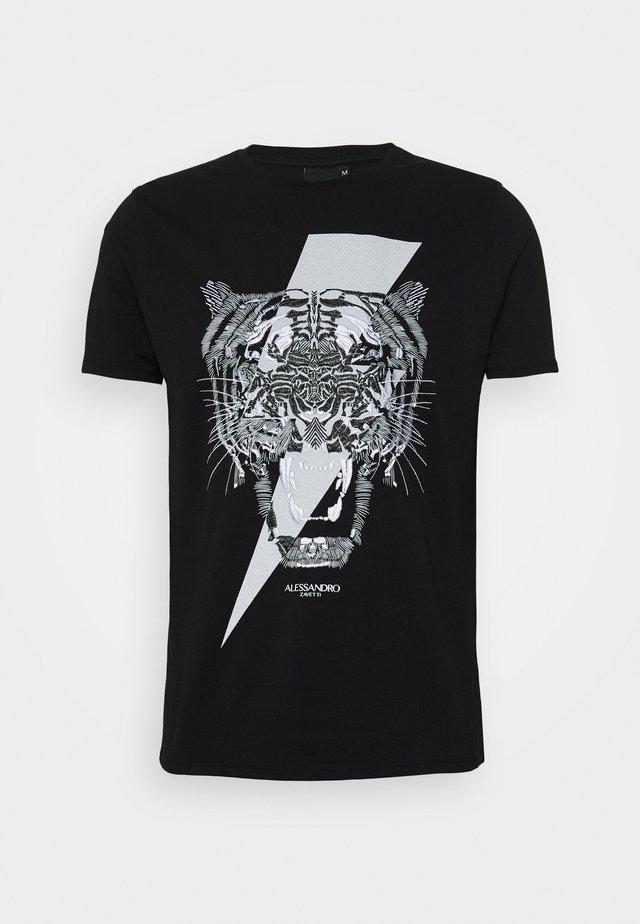 TIGERBOLT  - T-shirts print - black