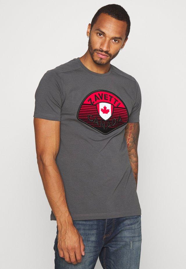 CANADA BOTTICINI  - T-shirt imprimé - grey