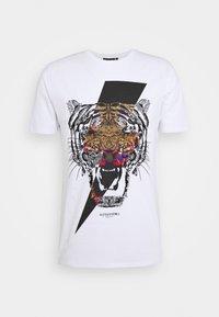 Alessandro Zavetti - GROWLER - T-shirt print - white - 4