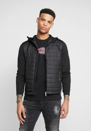 ERMINO HOODIE - Light jacket - black