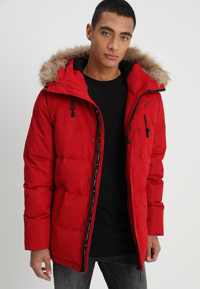 OSHAWA - Winter jacket - red