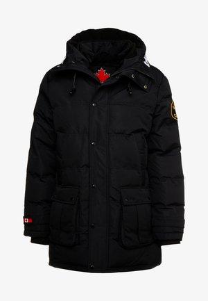 TERO - Wintermantel - black