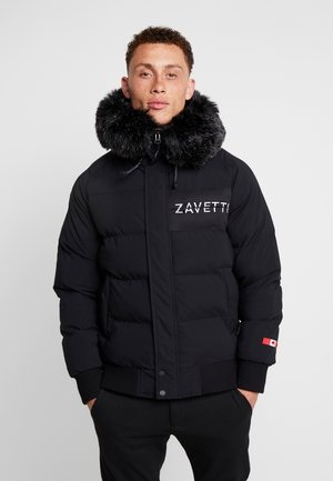 CERVATI SHORT - Parka - black