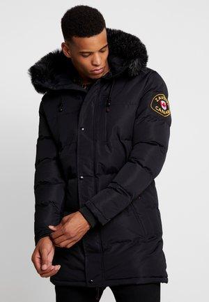 DONATO LONG - Zimní kabát - black