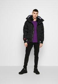 Alessandro Zavetti - TURBO JACKET - Winter jacket - black - 1