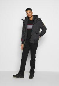Alessandro Zavetti - TURBO PADDED JACKET - Winter jacket - grey - 1