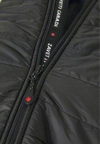 Alessandro Zavetti - CANADA AMINO HYBRID JACKET - Light jacket - black - 2