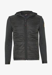Alessandro Zavetti - CANADA AMINO HYBRID JACKET - Light jacket - black - 0
