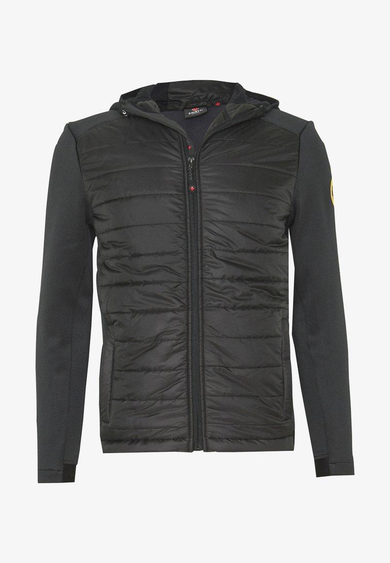 Alessandro Zavetti - CANADA AMINO HYBRID JACKET - Light jacket - black