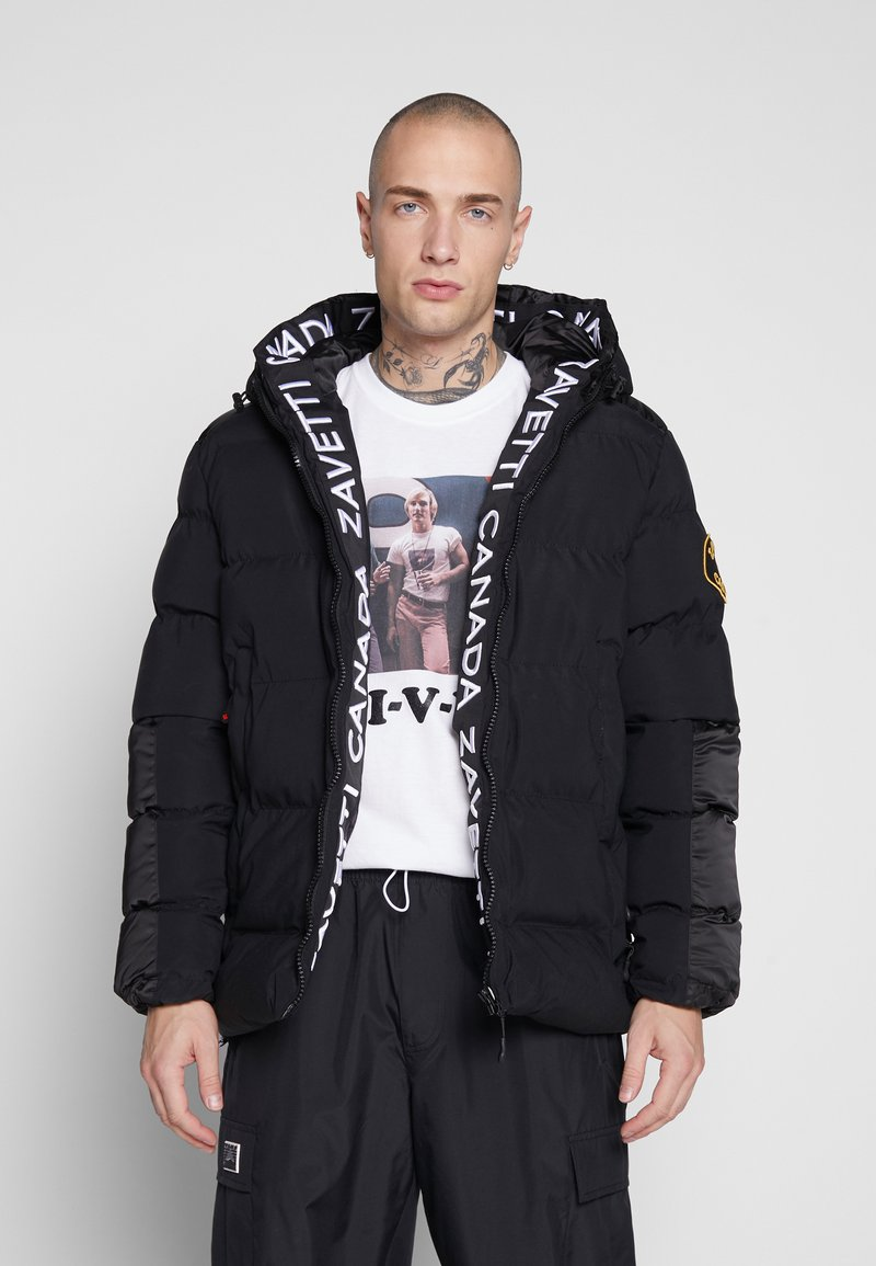 Alessandro Zavetti - ZAVETTI CANADA SALVINI PADDED JACKET - Zimní bunda - black