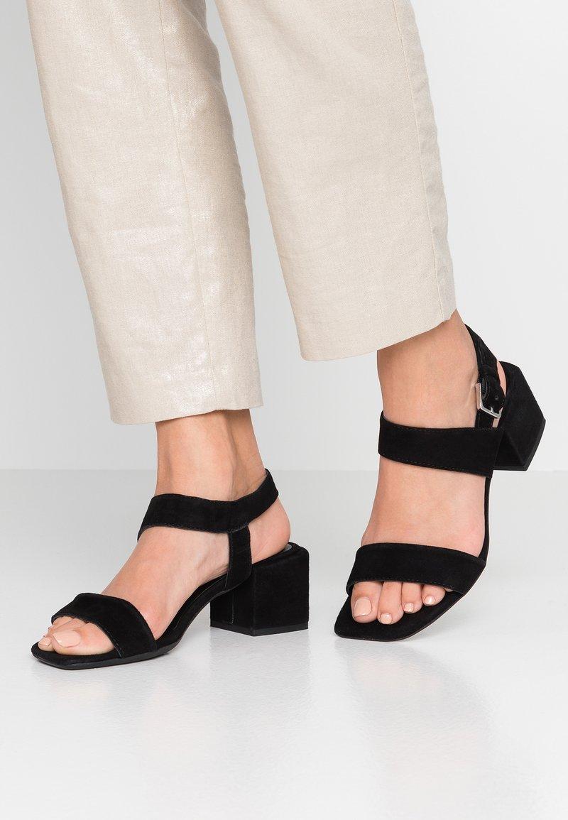 Alpe - SALMA - Sandals - black