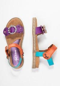 Alpe - SOFFIE - Korkeakorkoiset sandaalit - lila - 3