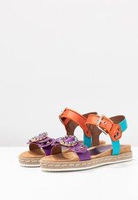 Alpe - SOFFIE - Korkeakorkoiset sandaalit - lila - 4
