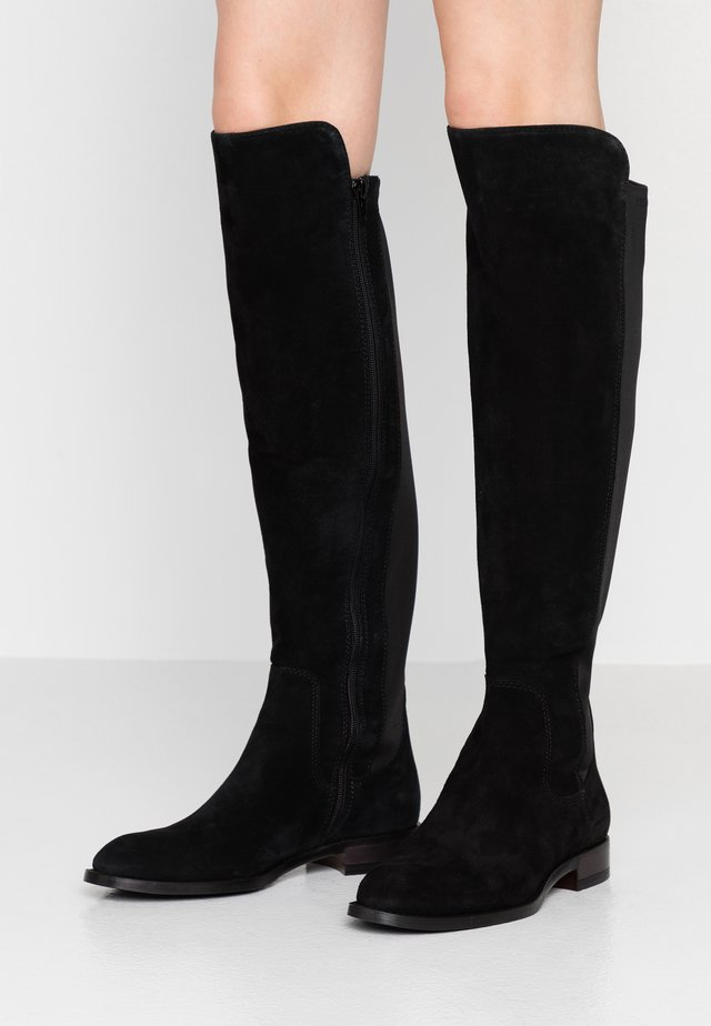 MELANIA - Over-the-knee boots - black