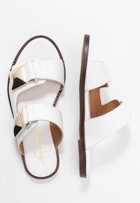 Alpe - AMBER - Pantofle - blanco - 3