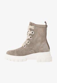 Alpe - X-LIGHT - Platform ankle boots - kaky - 1