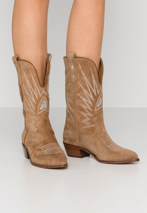 ROSE - Cowboy-/Bikerboot - brown