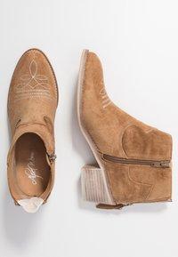 Alpe - NELLY - Kotníková obuv - brown - 3