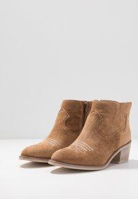 Alpe - NELLY - Kotníková obuv - brown - 4