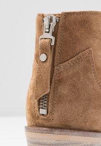 Alpe - NELLY - Kotníková obuv - brown - 7
