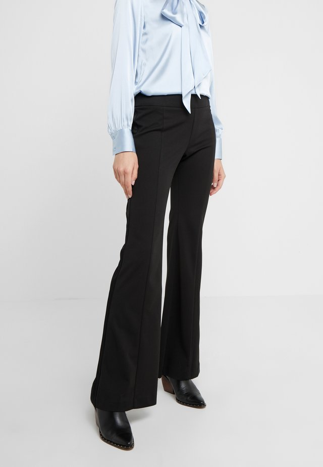 KAMIE TROUSERS - Trousers - black
