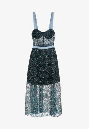 EDEN BUSTIER DRESS - Společenské šaty - blue