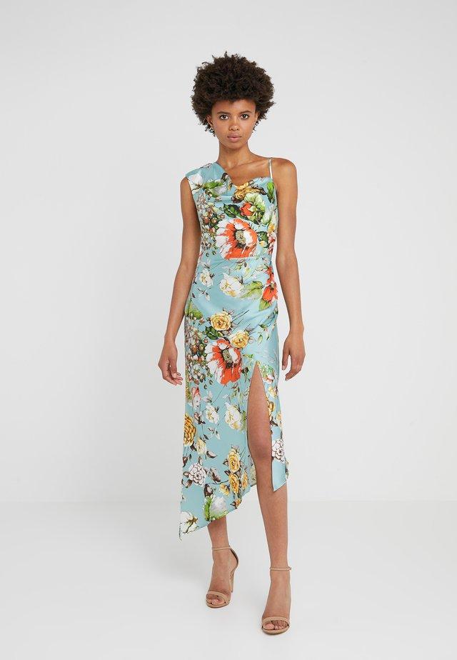 EVERLY ASYMETRIC DRESS - Długa sukienka - multicolor
