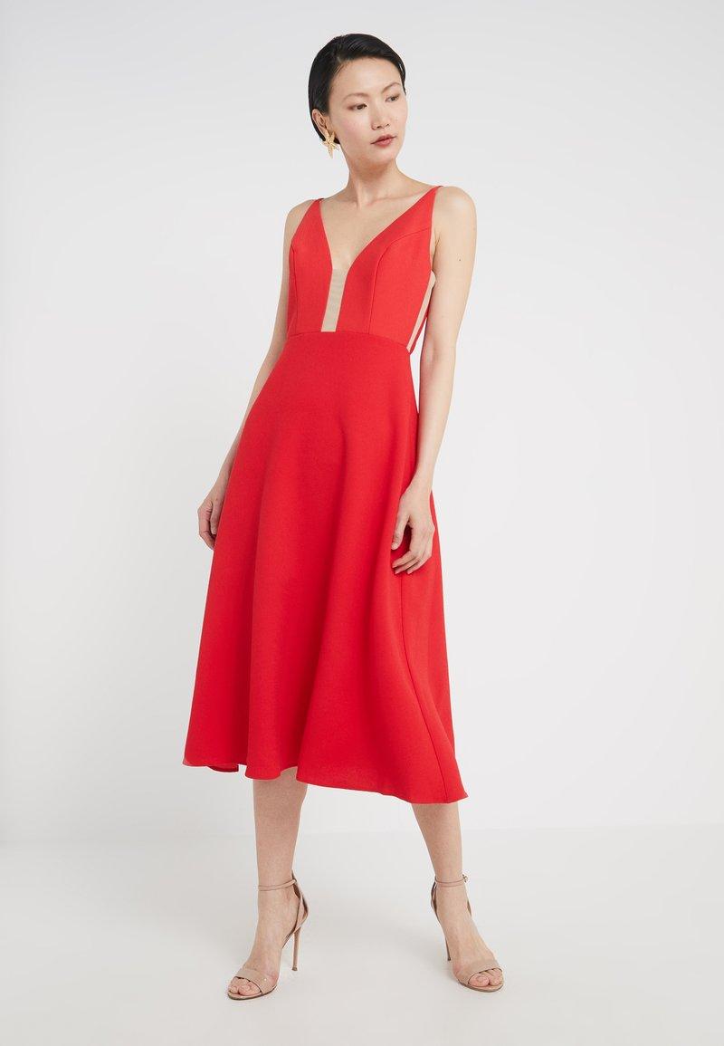 Allen Schwartz - ROXSANNA MIDI DRESS - Cocktail dress / Party dress - flame