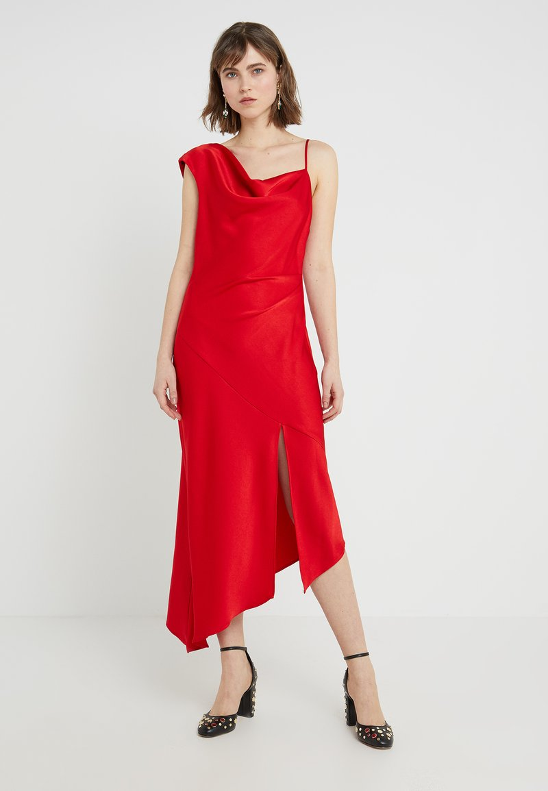 Allen Schwartz - EVERLY GOWN HEM - Cocktail dress / Party dress - red