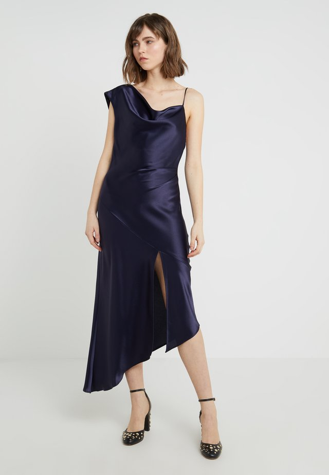 EVERLY LAME GOWN - Juhlamekko - dark midnight