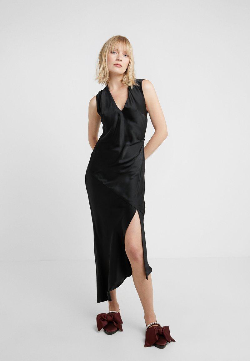 Allen Schwartz - DESIREE DRESS WITH OPEN BACK - Vestido de fiesta - black