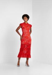 Allen Schwartz - TEAGAN DRESS - Vestito elegante - red - 1