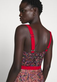 Allen Schwartz - EDEN BUSTIER DRESS IN PRINTED - Vestito elegante - red - 8