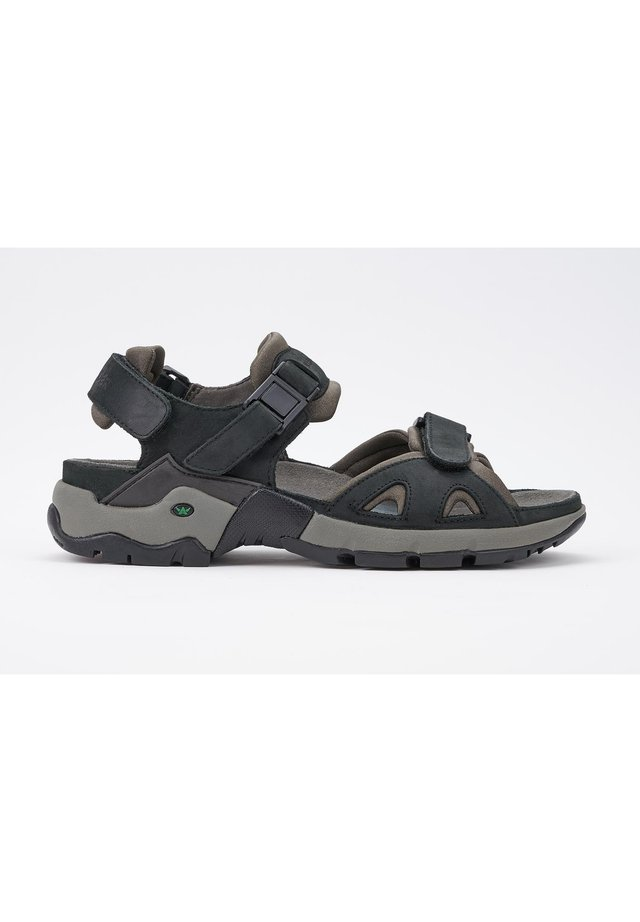 ALLIGATOR - Walking sandals - black