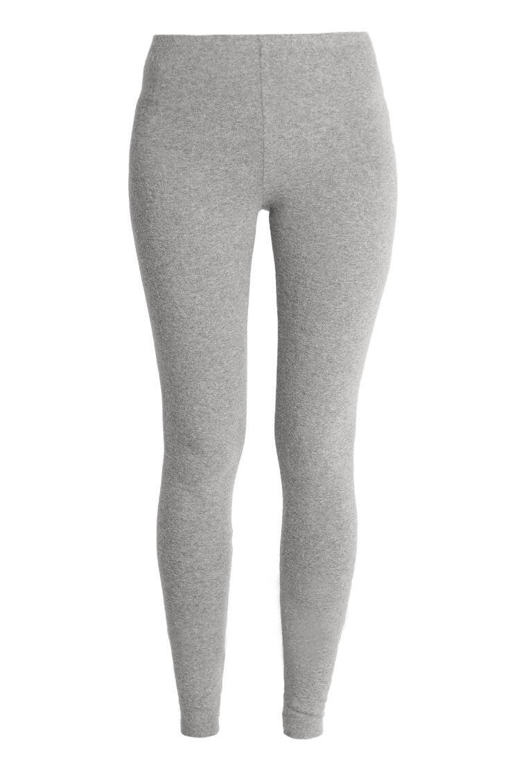American Vintage SOFT SPUN - Leggings - gris chine