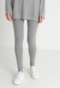 American Vintage - SOFT SPUN - Leggings - gris chine - 0