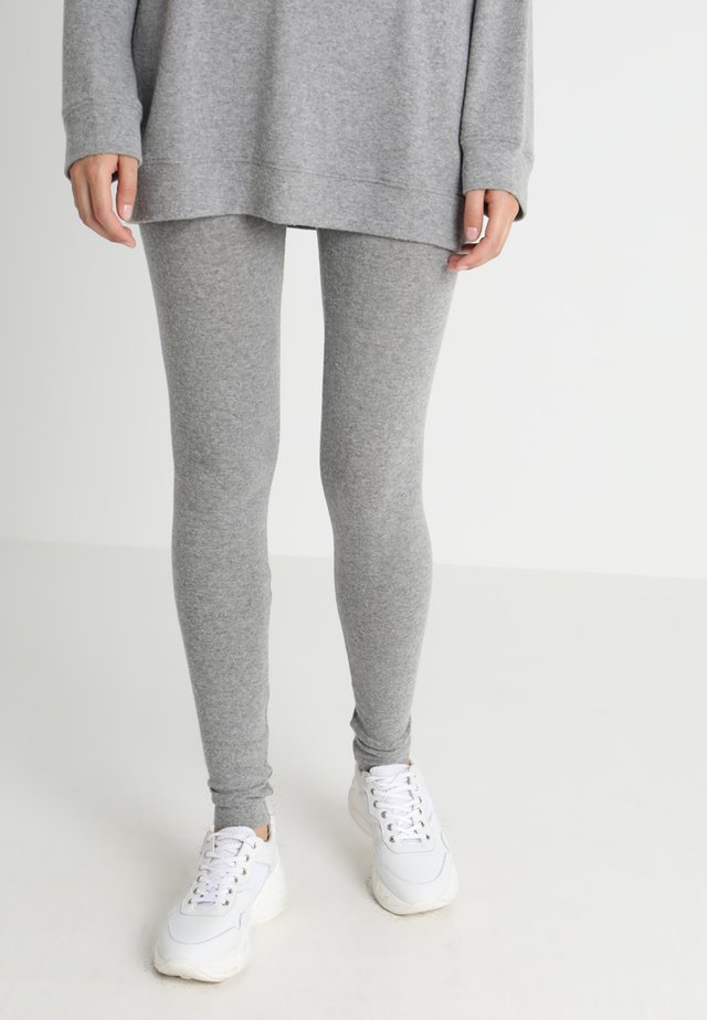 SOFT SPUN - Legging - gris chine
