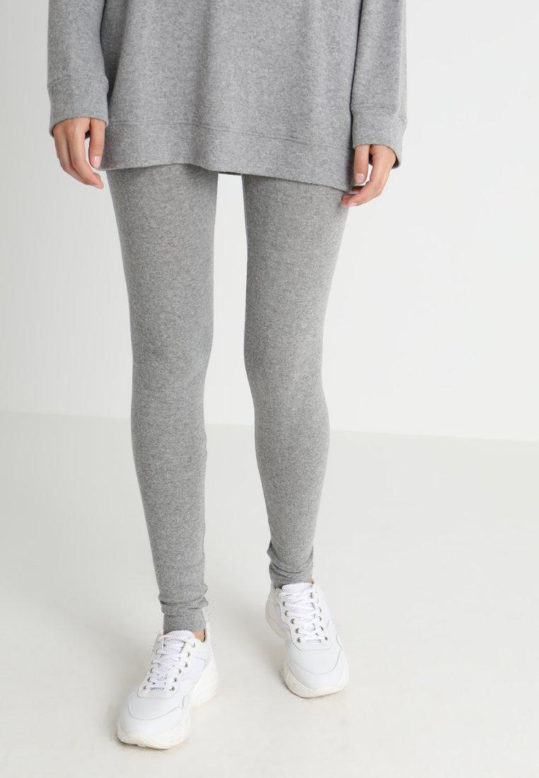 American Vintage - SOFT SPUN - Leggings - gris chine