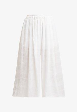 DITABURG - Spodnie materiałowe - blanc