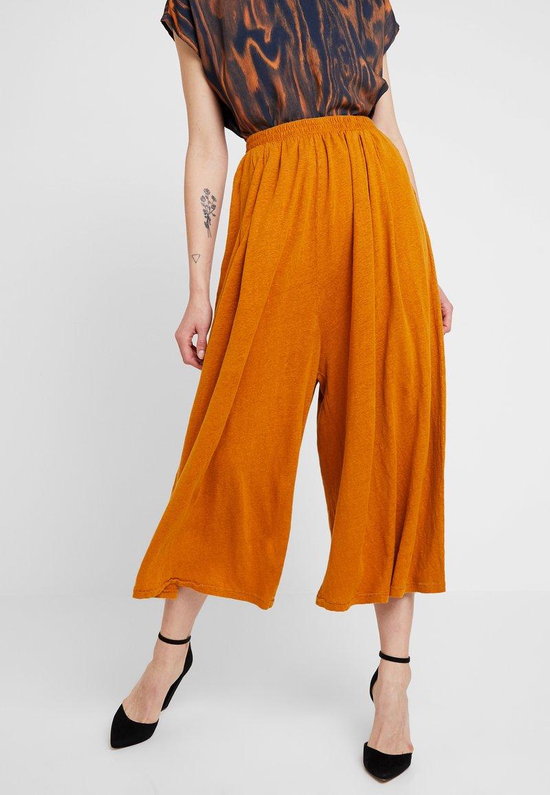 American Vintage - LOLOSISTER - Pantalon classique - savane