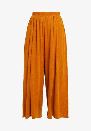 LOLOSISTER - Spodnie materiałowe - savane