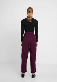 American Vintage - NALASTATE - Pantaloni - violett - 2