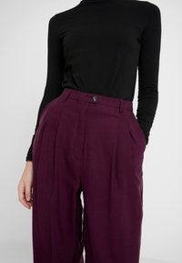 American Vintage - NALASTATE - Pantaloni - violett - 3