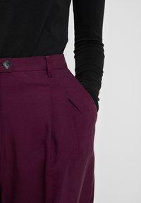 American Vintage - NALASTATE - Pantaloni - violett - 5
