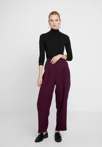 American Vintage - NALASTATE - Pantaloni - violett - 1