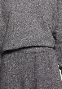 American Vintage - POMITREE - Teplákové kalhoty - anthracite chine - 4