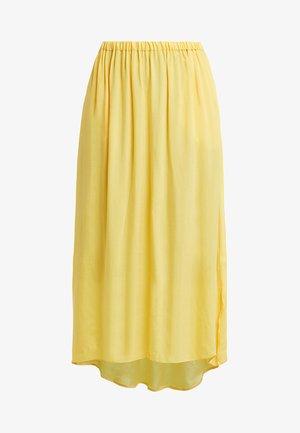 NONO SKIRT - Maxi skirt - limoncello