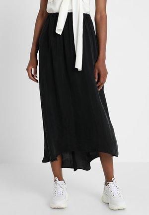 NONO SKIRT - Długa spódnica - carbon