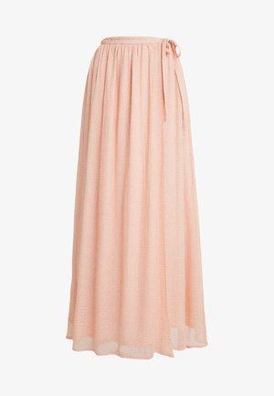 Długa spódnica - orange/white